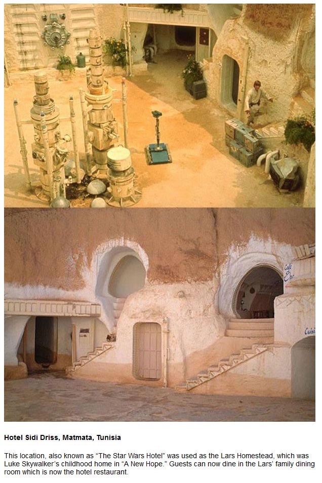 7 Locations From Star Wars That You Can Actually Visit