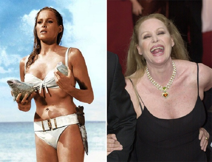 31 Iconic James Bond Girls Back In The Day And Today