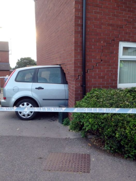 Drunk Driver Crashes Car Into 82 Year Old Woman's House