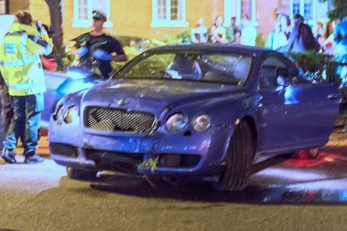 Stock Trader Laughs As His Lamborghini And Bentley Crash In The Same Night
