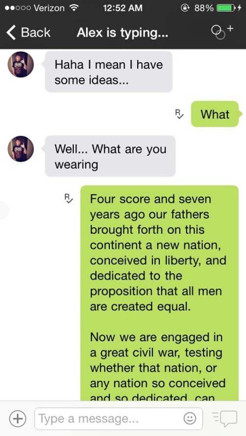 Flirty Guys That Got Shut Down Via Text Message