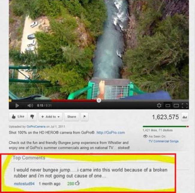 Witty YouTube Comments That Will Crack You Up