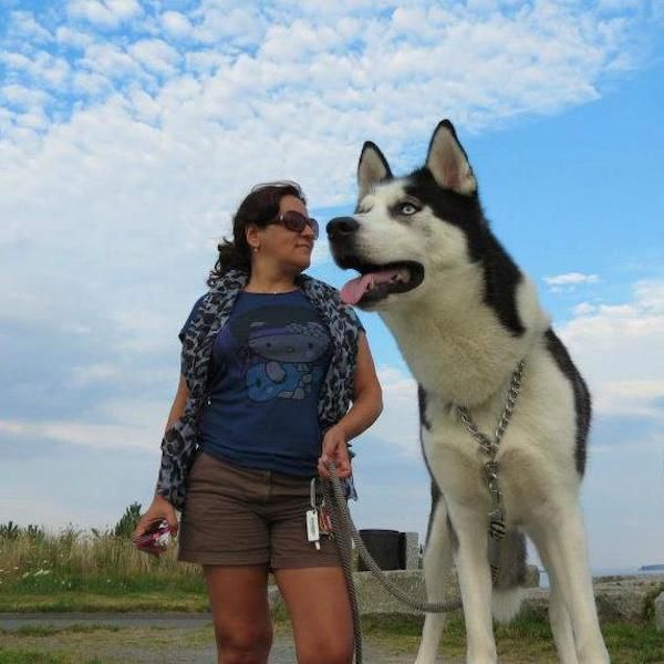 Photos That Make Dogs Look Like Giants