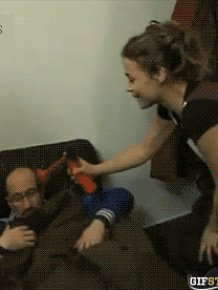 Watch People Pull Off Funny Pranks In These Awesome Action Gifs
