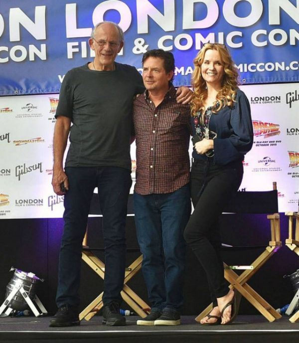30 Years Later The Cast Of Back To The Future Reunited In London