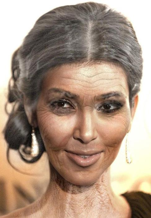 Pictures That Show What Celebrities Will Look Like When They're Old