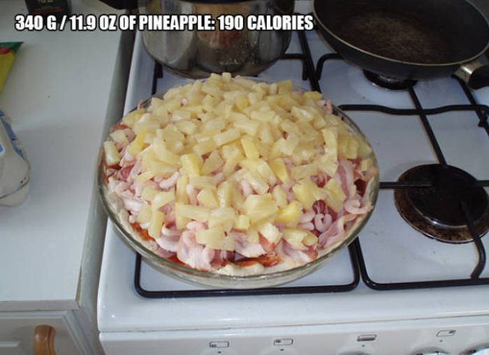 This Is What A Pizza Loaded With 9,000 Calories Looks Like