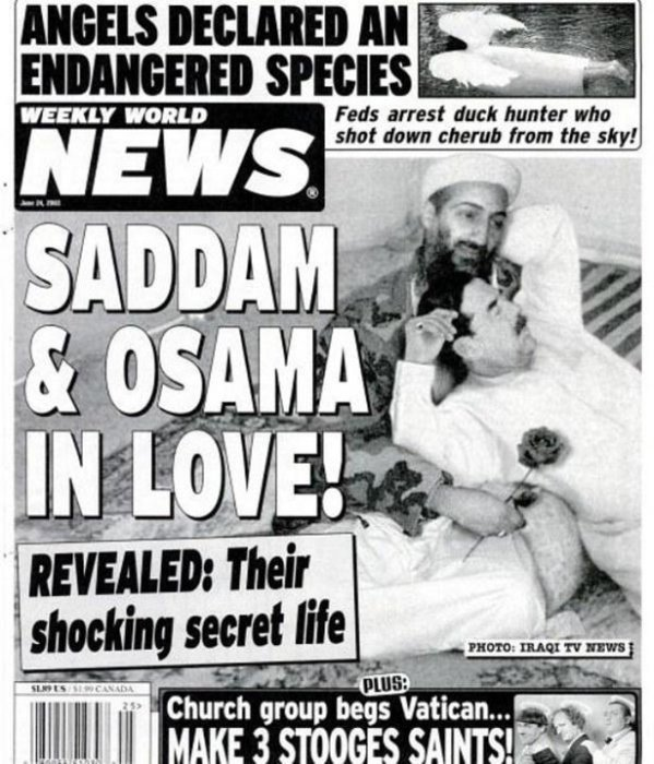 The Weekly World News Is Still Coming Up With Ridiculous Headlines