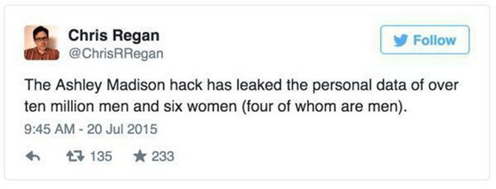 The Internet Had Some Hilarious Things To Say About The Ashley Madison Hack