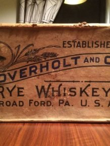 Check Out This Big Box Of Whiskey From The Prohibition Era