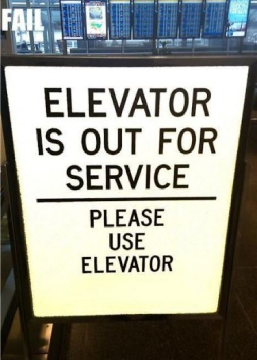 Signs That Just Don't Make Any Sense At All