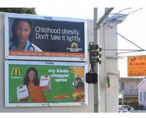 Unfortunately Placed Ads