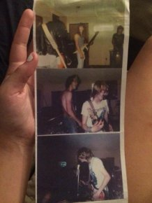19 Year Old Finds Long Lost Pictures Of Nirvana's First Show
