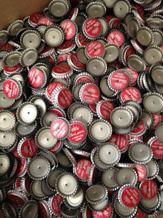Artist Turns Thousands Of Beer Bottle Caps Into Something Truly Amazing
