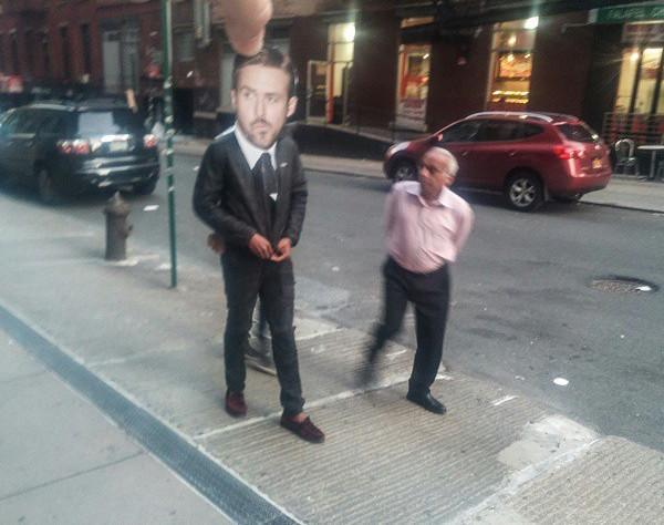 Celebrity Heads Get Placed On Random People's Bodies