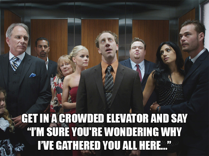 Ridiculous Things Everyone Should Try To Do On In An Elevator
