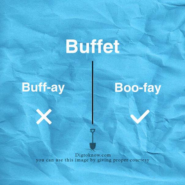 13 Everyday Food Names That Always Get Mispronounced