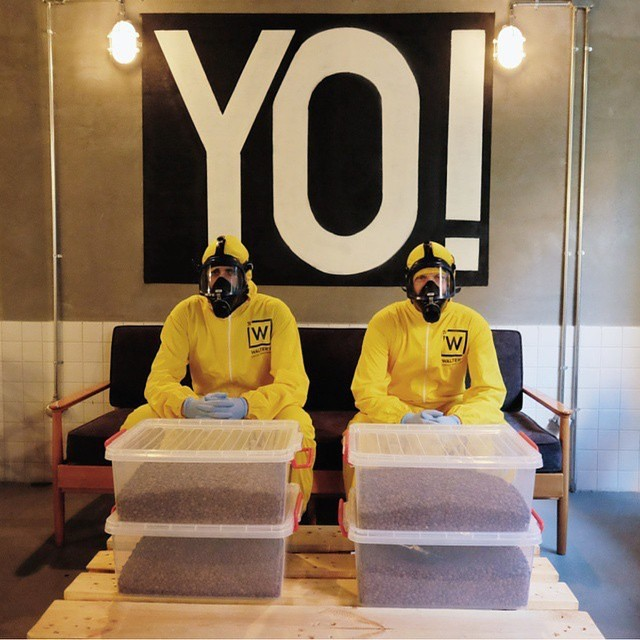 Tready Lightly When You Visit This Breaking Bad Themed Coffee Shop