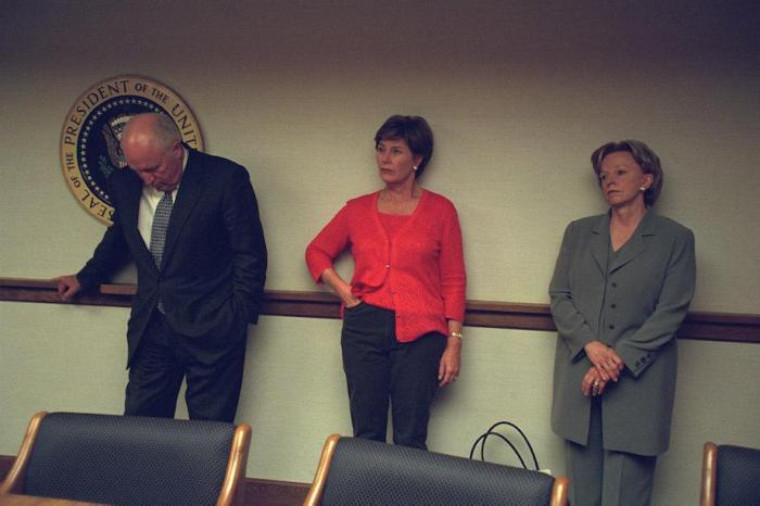 Rare Images Show What Happened Inside The White House During The 9/11 Attacks