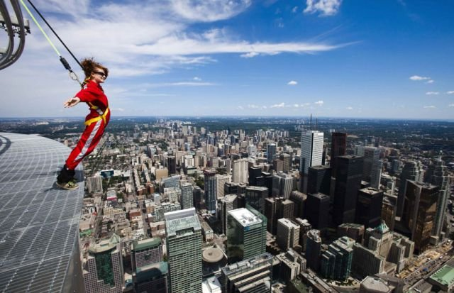 The Perilous CN Tower EdgeWalk