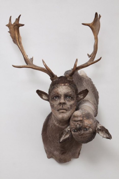 Taxidermy With Human Faces Is Terrifying Animals