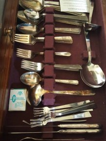 Wife Finds Something Embarrassing In Grandmother's Silverware Collection