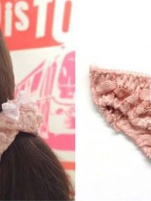Japan Has Created Scrunchies That Also Double As Panties
