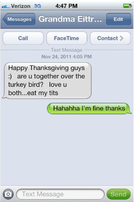 20 Times Grandparents Sent Hilarious Text Messages