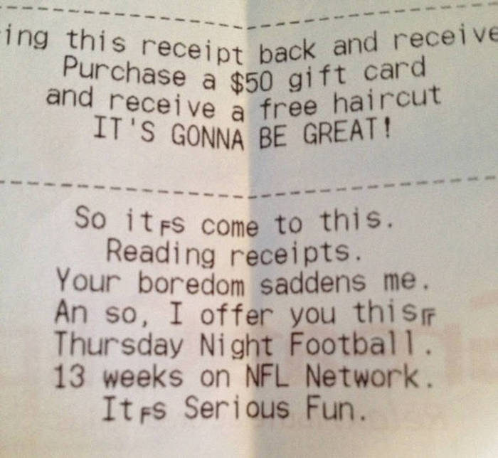 Receipts That Are Actually Worth Keeping