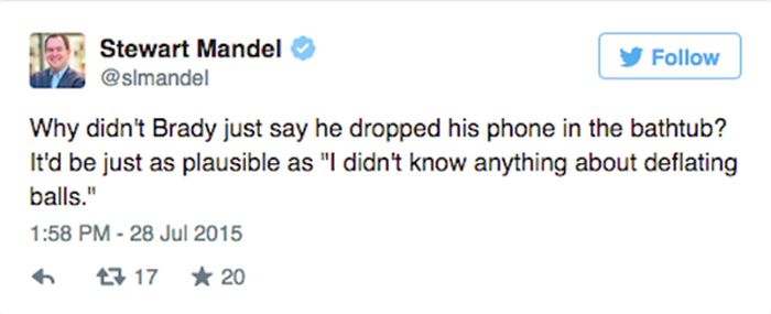 The Internet Reacts To Tom Brady's 4 Game Suspension Being Upheld