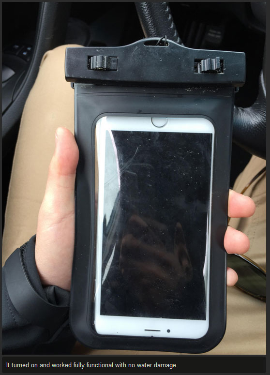 This Guy Lost His iPhone In The Ocean Then Got It Back Over A Month Later