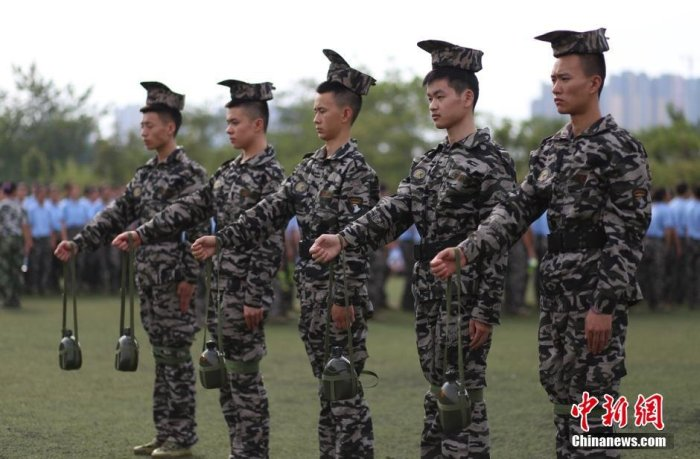 Military Training Regimens In China