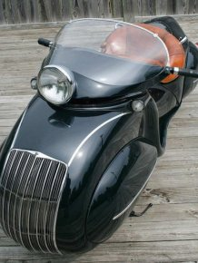 The 1934 Henderson Streamline Is One Of The Most Unique Motorcycles Ever