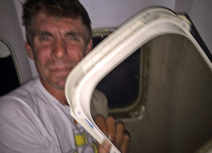 Man On Flight Says He Was Traumatized After A Window Fell Into His Lap
