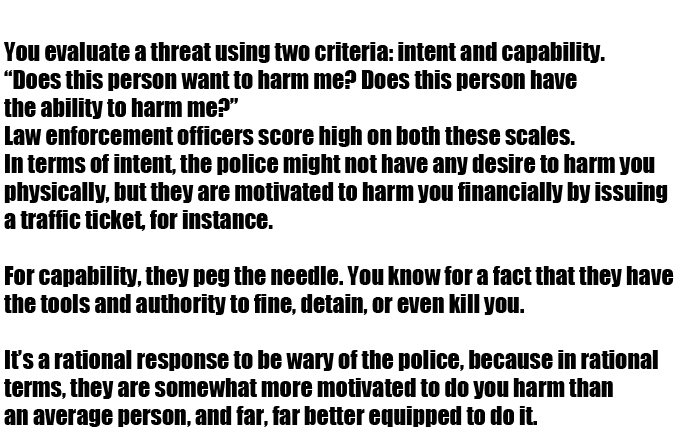 The Psychology Behind Why We're Afraid Of Police