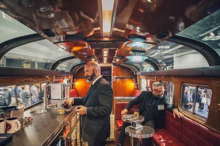 This Bus Is A Bachelor Party On Wheels