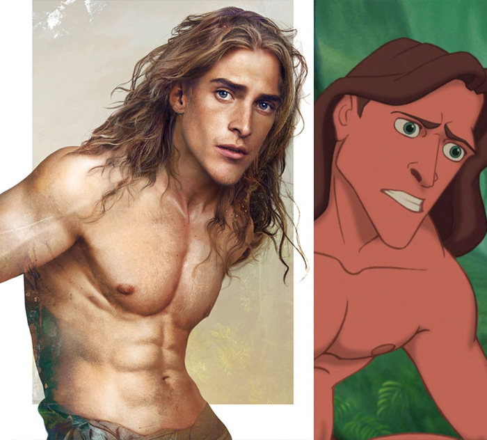 This Is What Disney Princes Would Look If They Were Real