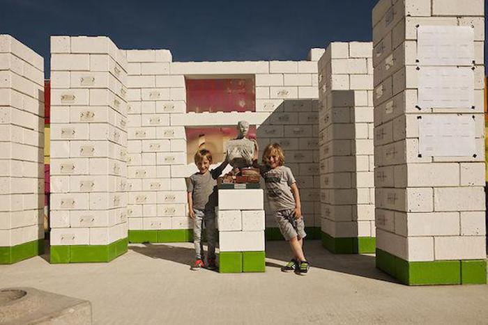 Company Turns Disaster Debris Into Real Life Lego Blocks