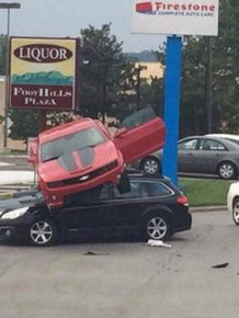 Brutal And Ridiculous Car Fails