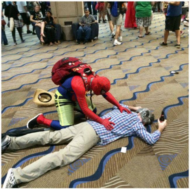Spider-Man Reacts To Drunk Uncle Ben