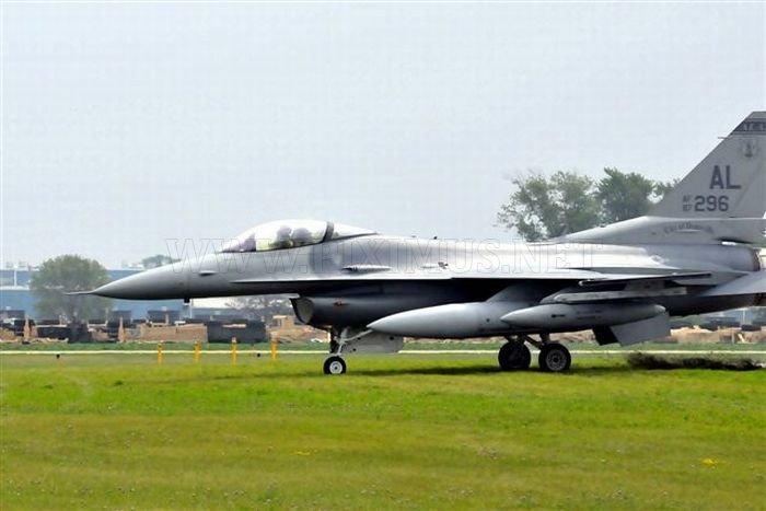 F-16 Landing Mishap