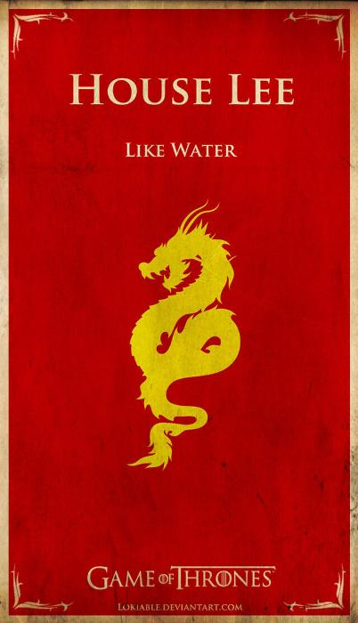 If Famous Pop Culture Characters Had Their Own Game of Thrones House Symbols