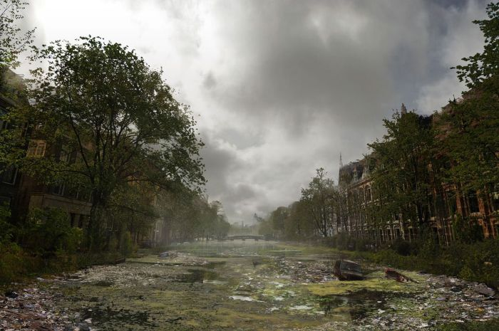 What The World Would Look Like Before And After The Apocalypse