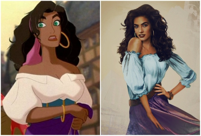 What Disney Princesses Would Look Like If They Were Real