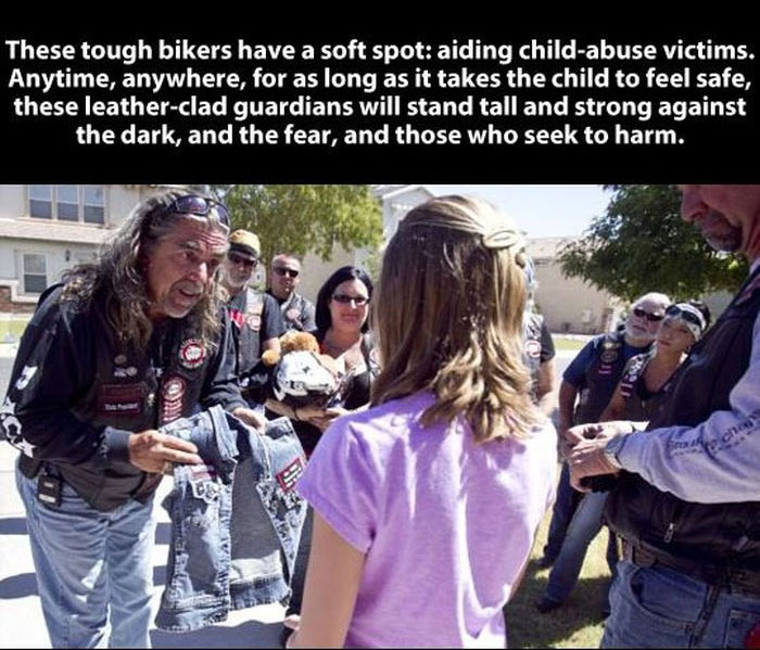 This Biker Gang Will Restore Your Faith In Humanity