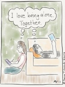 Illustrations That Show What It's Like To Be An Introvert In The Real World