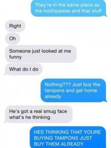 Confused Guys React To Buying Their Girlfriends Tampons