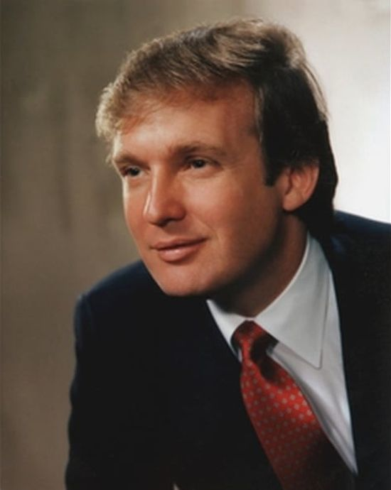 Donald Trump Has Aged Over The Years But His Hair Stays The Same