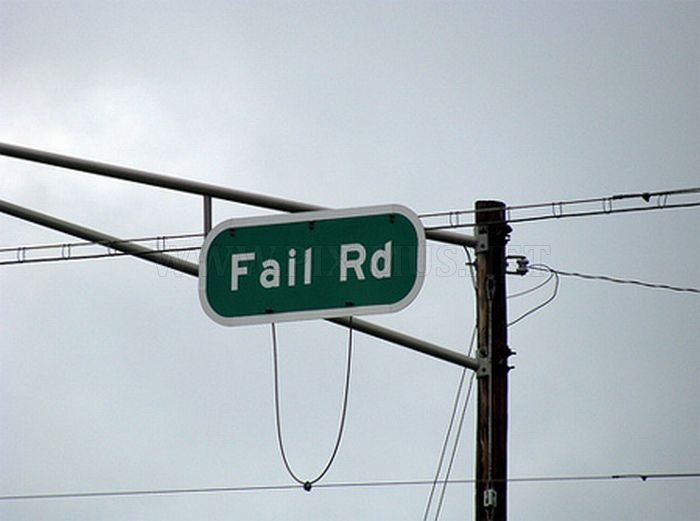 Funny Sign Fails