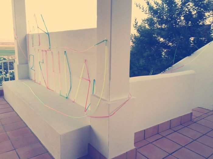 Creative Dad Builds The Coolest Crazy Straw Ever For His Daughter's Birthday